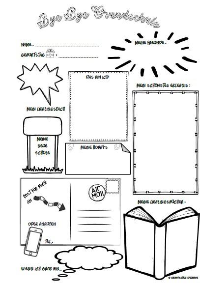 Vorlage Steckbrief Grundschule