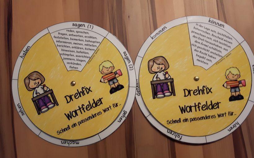 Drehfix Wortfelder Grundschul Ideenbox